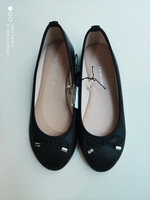 Used NEW Primark BLACK Ballerinas EU36 in Dubai, UAE