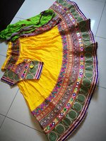 Used Ghaghra choli with dupatta in Dubai, UAE