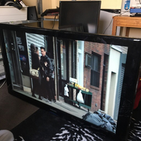 "Used Samsung 46"" HD TV with remote in Dubai, UAE"
