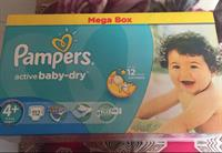 Pampers active Baby Dry...(112 Piece)9-16 Kg