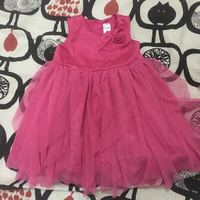 Used Carters pink princess dress 18 months in Dubai, UAE