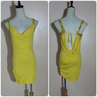 Summer dress yellow color for her