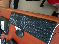 Used Lenovo wifi keyboard mouse 70Aed  Chat in Dubai, UAE