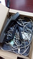 Used 3pcs Office Etisalat landline phone in Dubai, UAE