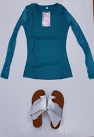 Ladies long sleeve and sandal combo