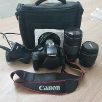 Used Canon 1100D camera with 2 lens in Dubai, UAE