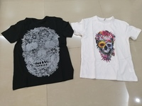 Used T shirts new 2 pieces,black (M)&white(S) in Dubai, UAE