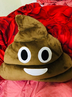 Used Emoji poop  cushion pillow  in Dubai, UAE