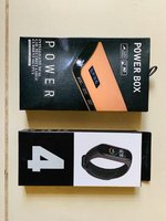 Used M4 smart band with Powerbank in Dubai, UAE