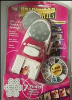Used New nails art set in box sealled in Dubai, UAE