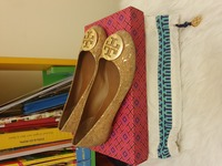 Used Authentic Tory Burch Flats in Dubai, UAE