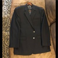 Used Wts Michael Kors navy blue blazer in Dubai, UAE