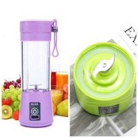 New portable rechargable juicer