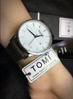 Used Original TOMI Leather Watch ♧New withBOX in Dubai, UAE