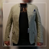 Used Blazer/ casual jacket light green XXL in Dubai, UAE