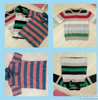 3 Boys Items. Cardigan And Tshirts. All