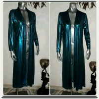 Used Brand New shiny Long Jacket for women in Dubai, UAE