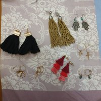 Used Earrings ( Pretty Little Thing & Boohoo) in Dubai, UAE