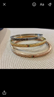 Stainless steel Gucci bangle