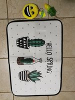 New bathroom comfortable mat with 2 gift