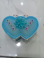 Used Glass jewellery box in Dubai, UAE