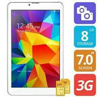 Used Enet Tablet Dual Sim 8GB Memory 512 Ram Android 4.4 Kitkat in Dubai, UAE