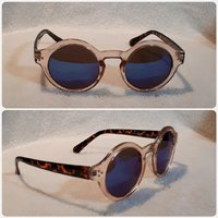 Very beautiful blue brown sungglass FASH