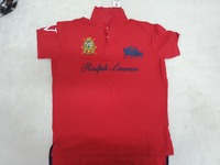 Polo shirt red L size...