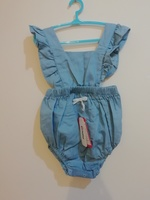 Used Ruffled backless Romper (1pc) in Dubai, UAE