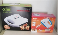 Used Sandwich maker and mixer set new in box in Dubai, UAE