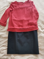 Used Kotton Blouse with H&M Skirt in Dubai, UAE