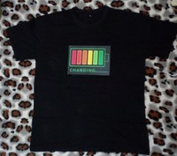 Used LED light music flash T-SHIRT in Dubai, UAE