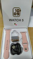 Used Iphone Look Series 5 Smartwatch RoseGold in Dubai, UAE