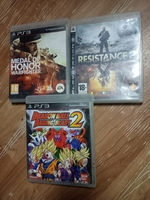 Used Ps3 medal of honor+resistance2+dragon b2 in Dubai, UAE
