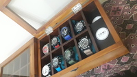 Used Imported Luxury Wood Glass Watch Box in Dubai, UAE