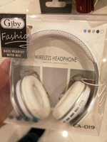Used New foldable bluetooth headphones white in Dubai, UAE
