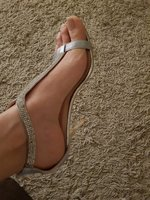 Used Silver sandles in Dubai, UAE