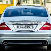 Used CLS 550 AMG V8  2005  Mint Condition Looking For Serious Buyers  in Dubai, UAE