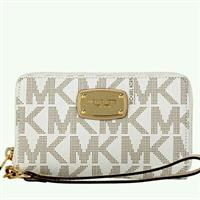 MICHAEL KORS LARGE FLAT MULTIFUNCTION WALLET