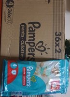 Used Pamper pants Three box 200 pieces in Dubai, UAE