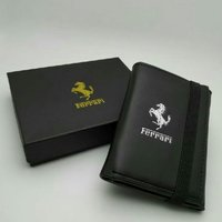 Used Ferrari pouch black for men in Dubai, UAE