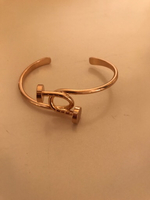 Used Titanium Split Nail Bangle ~ in Dubai, UAE