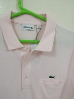 Used LACOSTE embroidered logo polo T-shirt in Dubai, UAE