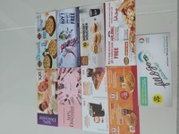 Vouchers all 10 aed