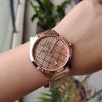 Used Gucci G-timeless watch 38mm 90% new in Dubai, UAE