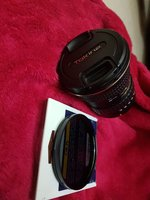Used Canon wide angle lens with filter n hood in Dubai, UAE