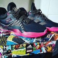 Used Adidas D.O.N issue 1 MARVEL Edition in Dubai, UAE