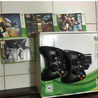 Used Xbox 360 , 250gb With Controllers , 5 Games And Logitec in Dubai, UAE