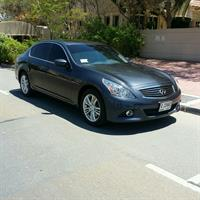 Used 2013 Infiniti G37S Full Option very Clean And Factory Paint in Dubai, UAE
