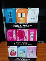 54 pcs (3boxes) smart collection perfume